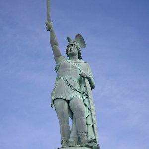 Arminius - le germain responsable du désastre de Varus