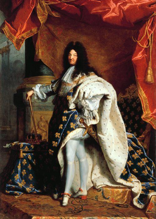 Louis XIV, dont le surnom en tant que roi de France était Le Roi-Soleil